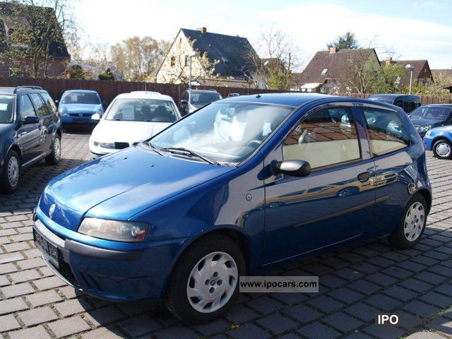 2003 fiat punto 1 2 16v dynamic car photo and specs. Black Bedroom Furniture Sets. Home Design Ideas
