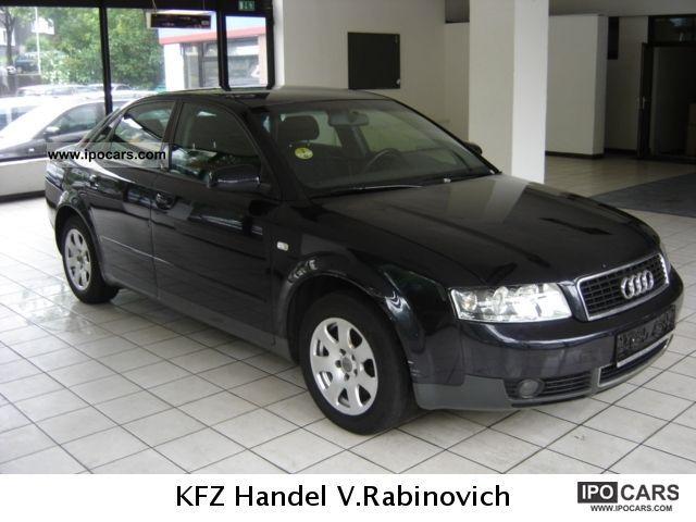 2001 Audi  A4, automatic climate control, EL.FH. Aluminum. Euro-3 Limousine Used vehicle photo