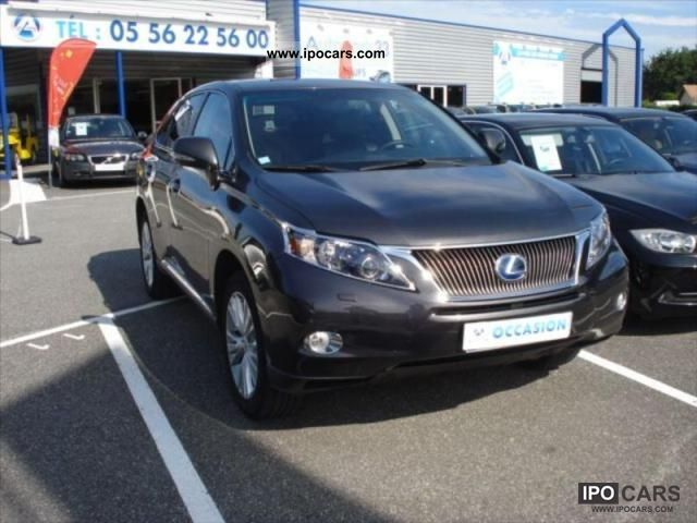 Lexus  RX 450 3.5 V6 PACK PRESIDENT 2009 Hybrid Cars photo