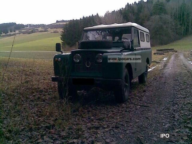 Land Rover  Series II 1960 Vintage, Classic and Old Cars photo