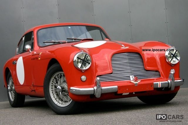 Aston Martin  DB 2 MKI RHD 1953 Vintage, Classic and Old Cars photo