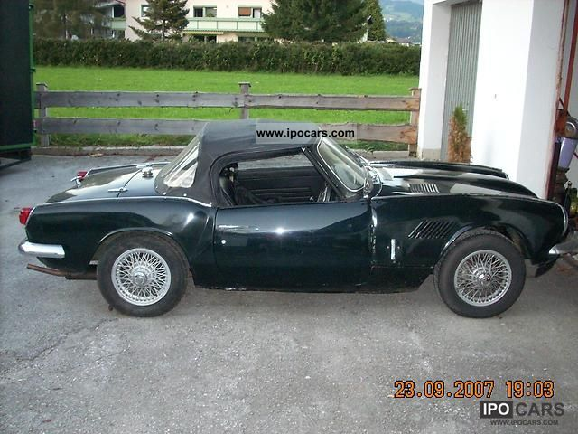 Triumph  Spitfire 1968 Vintage, Classic and Old Cars photo