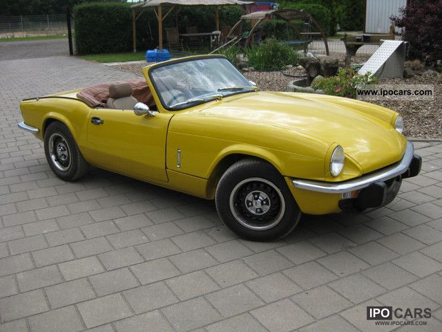1977 Triumph  MK4 1500 Spitfire Cabrio / roadster Used vehicle photo