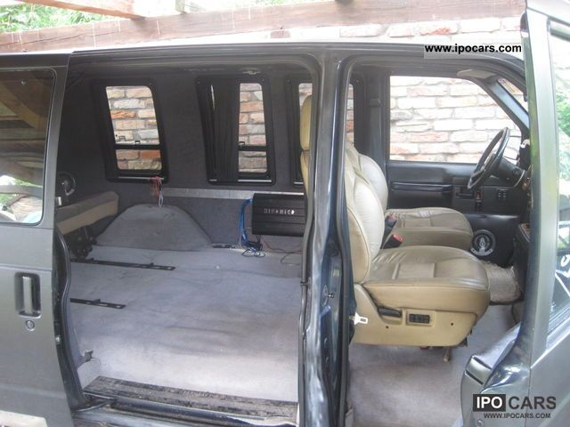 1991 Chevrolet Astro Van Gmc Safari Car Photo And Specs