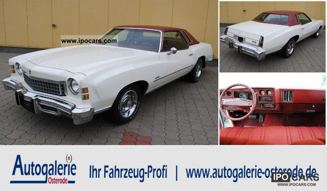 1974 Chevrolet  Monte Carlo Coupe 7.4L 74 454cui * Top Condition * Sports car/Coupe Used vehicle photo