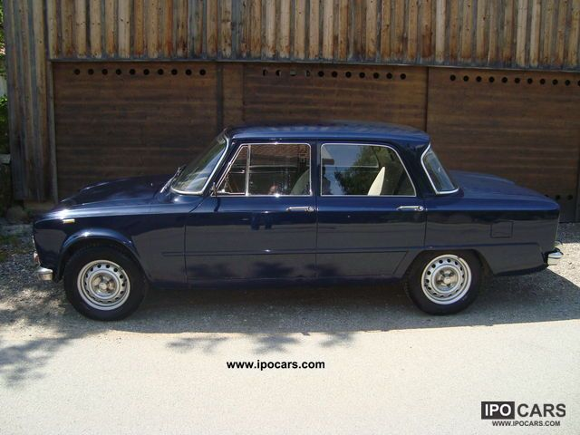 Alfa Romeo  Giulia 1973 Vintage, Classic and Old Cars photo