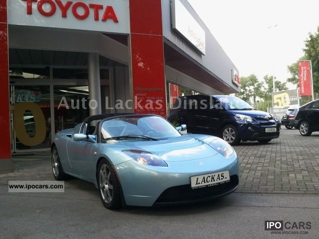 Tesla  Roadster Signatura 2009 Electric Cars photo