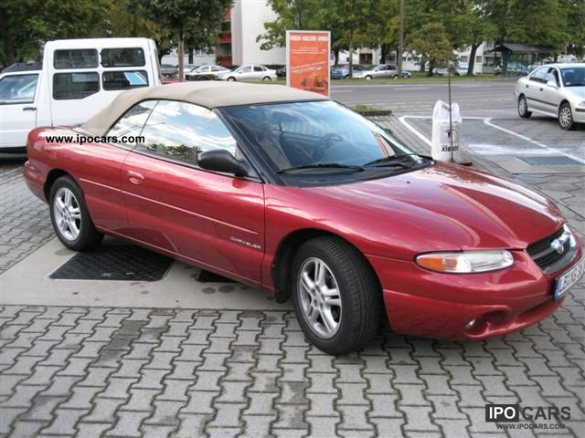 1996 chrysler sebring car photo and specs. Black Bedroom Furniture Sets. Home Design Ideas