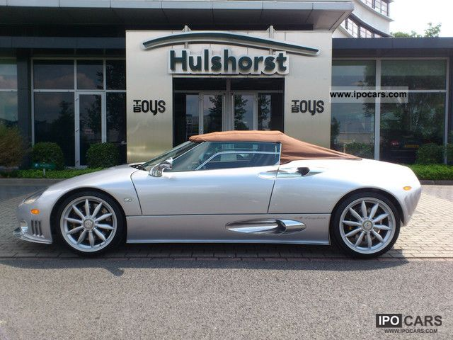 2012 Spyker  C8 Spyder SWB Cabrio / roadster New vehicle photo