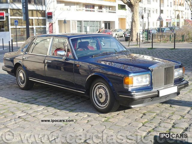 1992 Rolls Royce Silver Spur Ii Car Photo And Specs