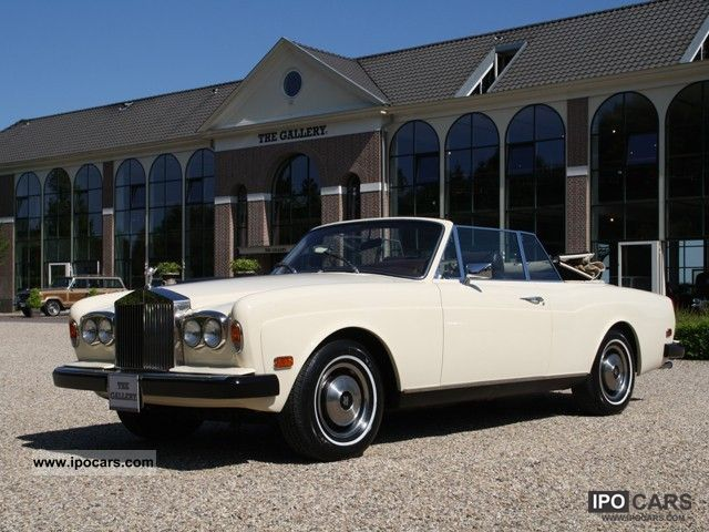 Rolls Royce  Corniche Convertible 1978 Vintage, Classic and Old Cars photo