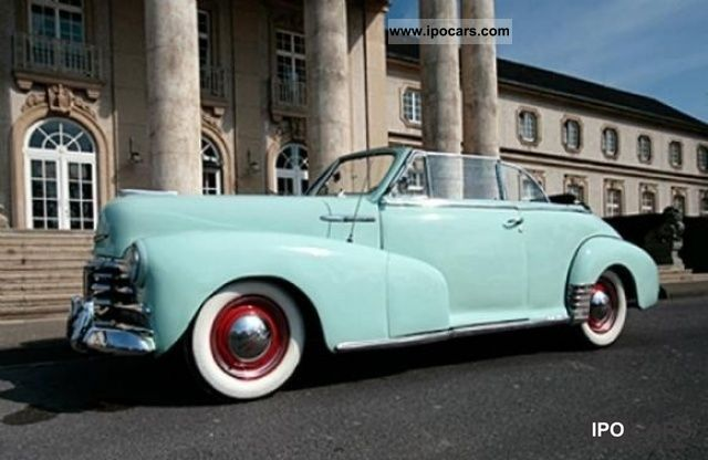 Chevrolet  Fleetmaster Convertibile 1947 Vintage, Classic and Old Cars photo