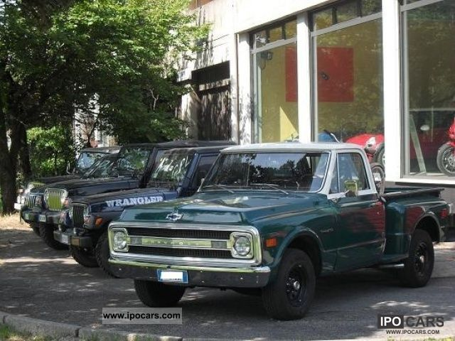 Chevrolet  S-10 PICK UP 1969 Vintage, Classic and Old Cars photo