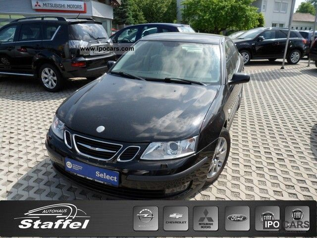 2003 Saab  9-3 1.8t Anniversary MP3 radio, parking aid, Le Limousine Used vehicle photo