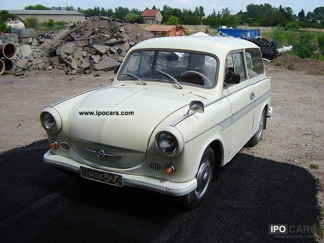 Trabant  * 600 * rare combination 1965 Vintage, Classic and Old Cars photo