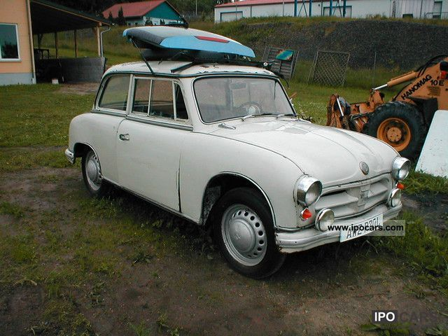 Trabant  P 70 DKW classic cars 1957 Vintage, Classic and Old Cars photo