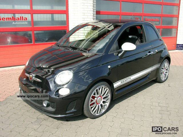 2012 Abarth  500 automatic air conditioning, 17 \ Small Car Used vehicle photo