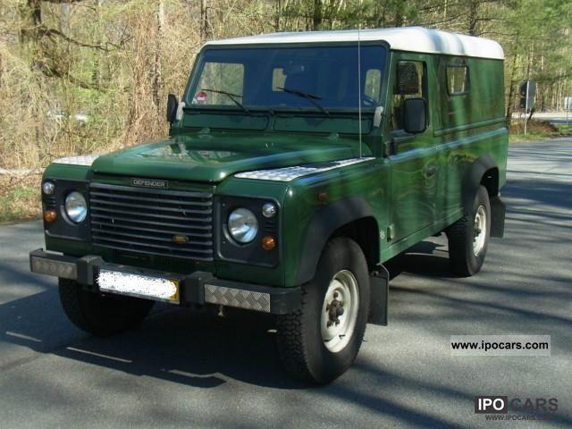 1999 Land Rover Td5 Defender 110 Hard Top Truck