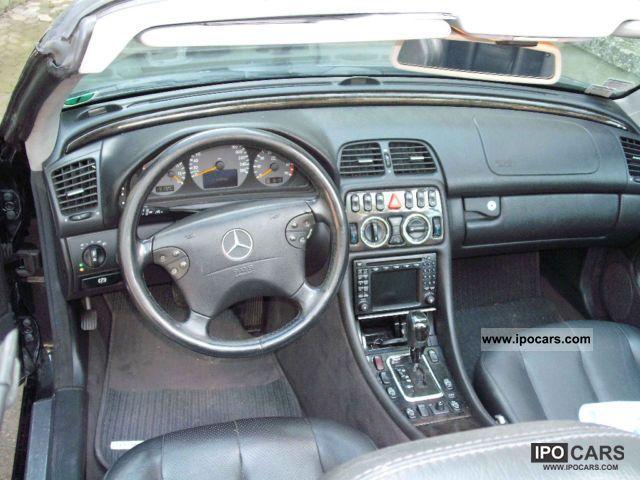 2000 mercedes-benz clk 320 avantgarde - car photo and specs