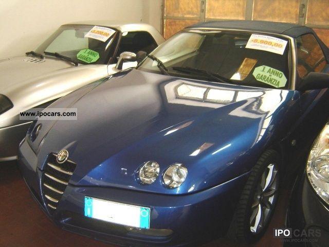 2005 Alfa Romeo  JTS 16V Spider 2.0i cat Cabrio / roadster Used vehicle photo