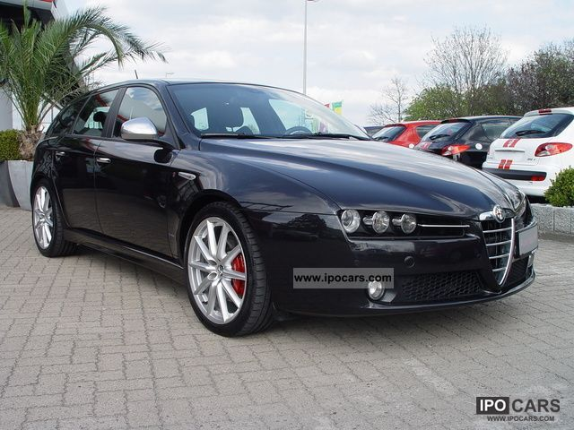 2009 alfa romeo 159 sw 2 4 ti sport navi great xenon 19zoll top car photo and specs. Black Bedroom Furniture Sets. Home Design Ideas