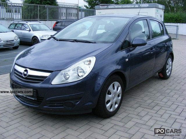 2008 opel corsa 1 4 16v edition car photo and specs. Black Bedroom Furniture Sets. Home Design Ideas