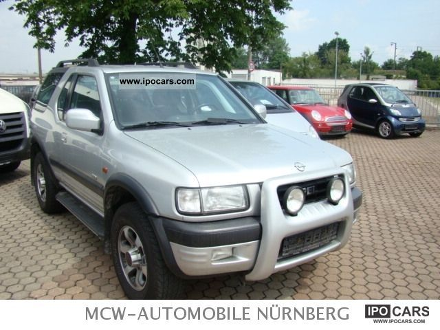 Opel  FRONTERA 2.2 SPORT 4x4 LPG GAS PLANT 2001 Liquefied Petroleum Gas Cars (LPG, GPL, propane) photo