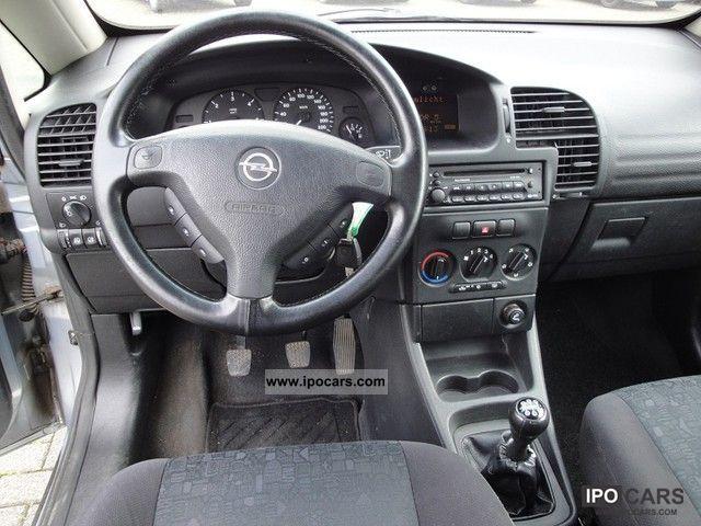 2000 Opel Zafira 2 0 Dti Air Car Photo And Specs