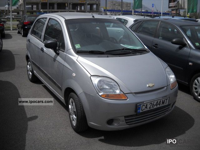 2008 Chevrolet Spark Car Photo And Specs