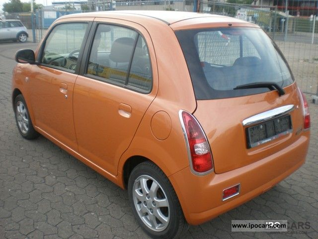 2006 daihatsu trevis 1 0 car photo and specs. Black Bedroom Furniture Sets. Home Design Ideas