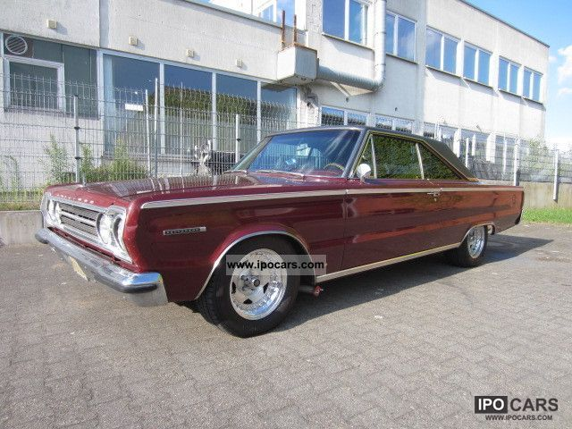 Plymouth  Belvedere II \ 1967 Vintage, Classic and Old Cars photo