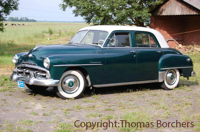 Plymouth  Cranbrook 1952 Vintage, Classic and Old Cars photo