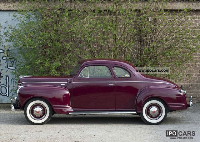 Plymouth  Deluxe Coupe - rare in top condition 1941 Vintage, Classic and Old Cars photo
