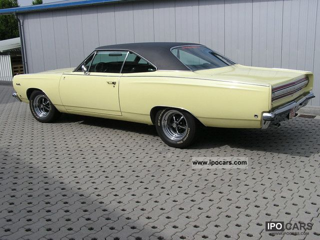 1968 Plymouth  Satellite / Roadrunner Clone 383 Coupe org 70 TMLS Sports car/Coupe Classic Vehicle photo