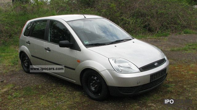 2004 ford fiesta 1 3 euro 4 5 door car photo and specs. Black Bedroom Furniture Sets. Home Design Ideas