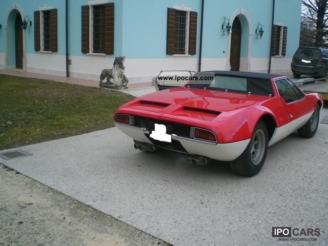 DeTomaso  MANGUSTA SPYDER 1970 Vintage, Classic and Old Cars photo