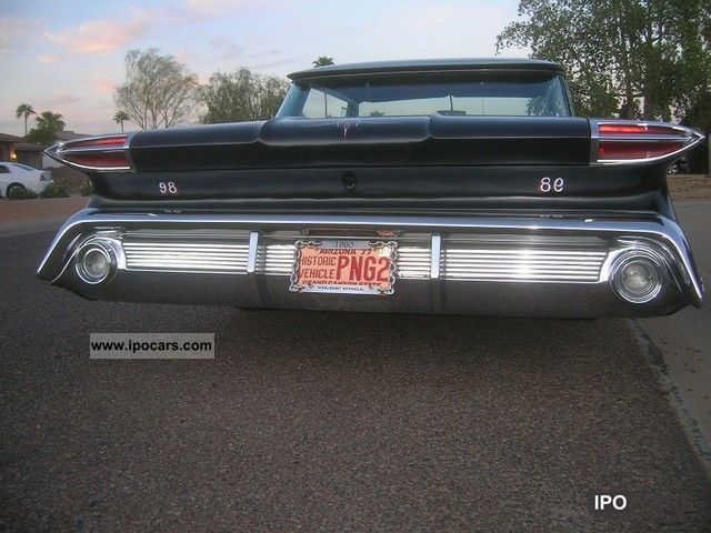 Oldsmobile  Ninety Eight hot rod, 383cui, 300 hp 1960 Vintage, Classic and Old Cars photo