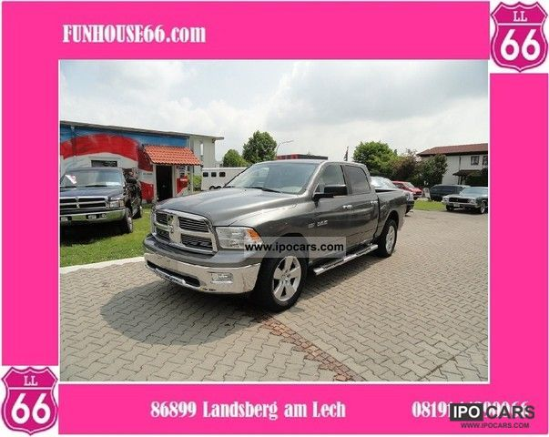 Dodge  1500, Lone Star, Crew Cab, 5.7 V8 Hemi, 4x4 LPG, 2009 Liquefied Petroleum Gas Cars (LPG, GPL, propane) photo