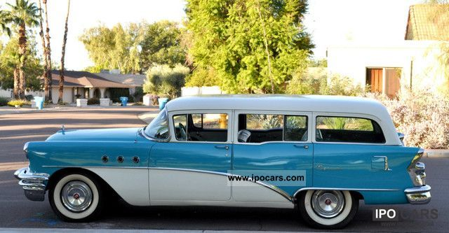 Buick  Special Station Wagon V8 Hot Rod H-Perm combination. 1955 Vintage, Classic and Old Cars photo