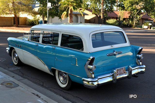 1955 Buick Special Station Wagon V8 Hot Rod H Perm
