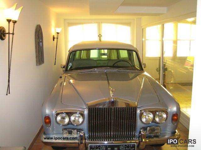 1967 Rolls Royce Hearse Hearse Silver Shadow Car