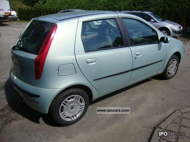 2003 fiat punto 1 9 jtd euro 3 climate control car photo and specs. Black Bedroom Furniture Sets. Home Design Ideas