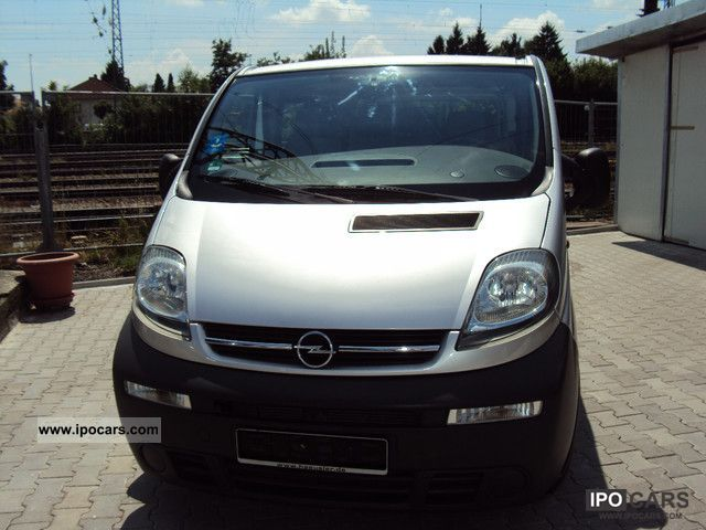 2006 opel vivaro 2 5 cdti 9 seats klim navigation. Black Bedroom Furniture Sets. Home Design Ideas