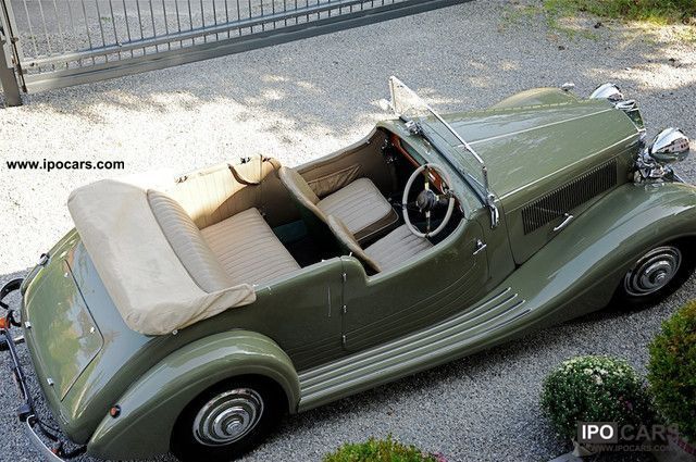 Talbot  Vintage Convertible Sports Roadster veteran 1938 Vintage, Classic and Old Cars photo