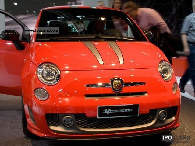 2012 Abarth  500 T-Jet 16v 1.4, 99 kW (135 hp), switching. 5 - ... Limousine New vehicle photo