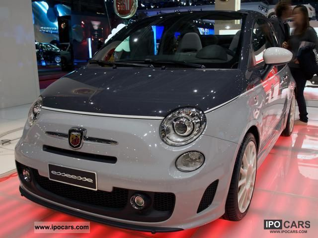 2012 Abarth  500C C 1.4 16V T-Jet, 99 kW (135 hp), switch .... Cabrio / roadster New vehicle photo