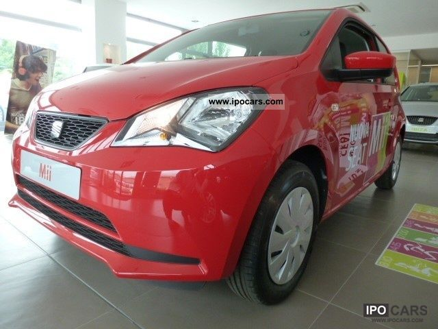 Seat  Mii 1.0 3p. Reference 2012 Compressed Natural Gas Cars (CNG, methane, CH4) photo