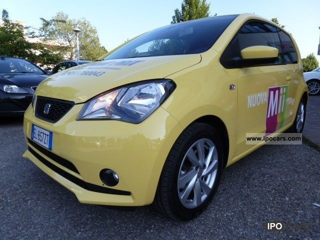 Seat  Mii 1.0 75CV 3p. Style 2012 Liquefied Petroleum Gas Cars (LPG, GPL, propane) photo
