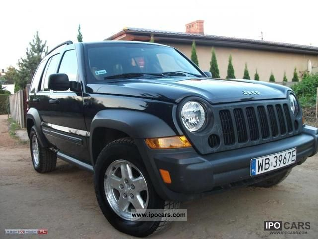 Jeep  Liberty CZARNY METALIC! GAZ SEKWENCJA 2006 Liquefied Petroleum Gas Cars (LPG, GPL, propane) photo
