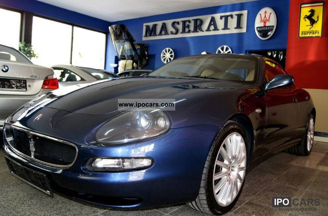 2002 maserati v8 coupe gt 6 speed xenon pdc intec warranty car photo and specs. Black Bedroom Furniture Sets. Home Design Ideas